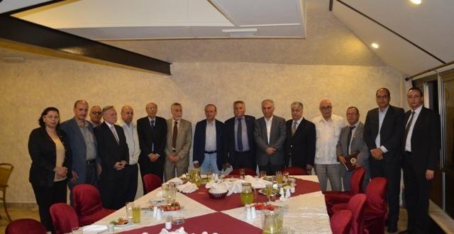 التقدم والاشتراكية بفلسطين يلتقي بمنظمة التحرير الفلسطينية