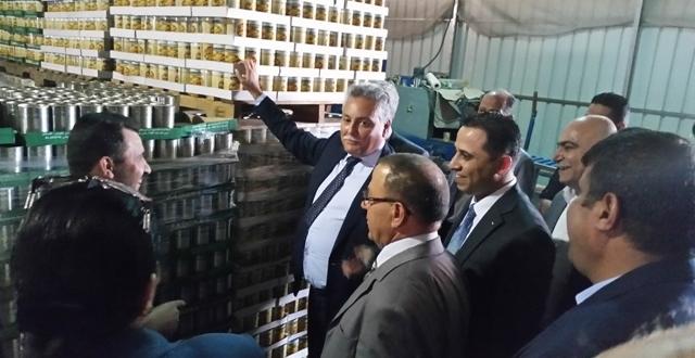 وفد حزب التقدم والاشتراكية يقوم بزيارة وحدات اقتصادية فلسطينية