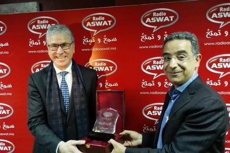 البروفيسور الحسين الوردي ضمن الفائزين برجل سنة 2014 على راديو اصوات
