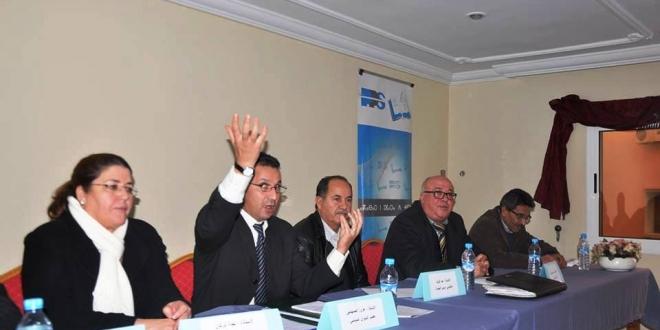 عزوز الصنهاجي يترأس إجتماعا تنظيميا للحزب بالناظور