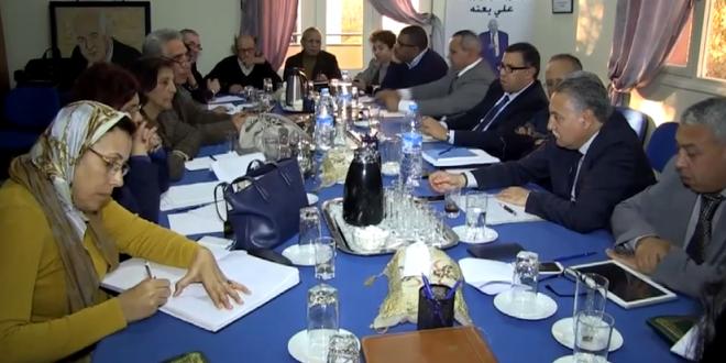 اجتماع المكتب السياسي لحزب التقدم و الاشتراكية ليوم الاثنين 16 فبراير 2015