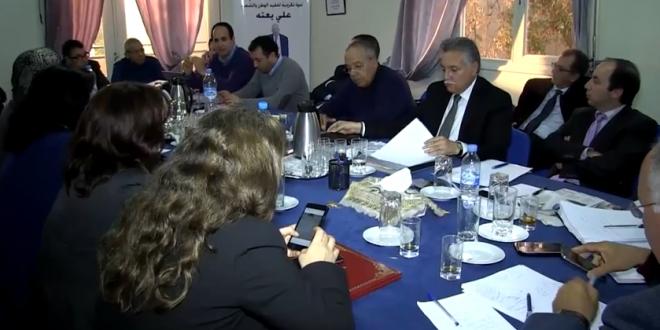 اجتماع المكتب السياسي لحزب التقدم و الاشتراكية ليوم 23 مارس 2015