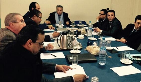 اجتماع المسؤولين عن تتبع عمل الحزب ونشاط المنتخبين على صعيد الجهات