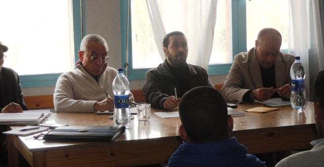 تقرير عن اجتماع المكتبيين الاقليمين للحزب بتيزنيت وسيدي افني