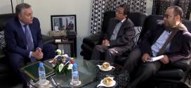 نبيل بنعبد الله يستقبل نائب الأمين العام للحزب الاشتراكي اليمني